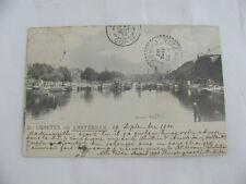 Postcard carte postale Netherlands Groeten Binnen Amstel Amsterdam France 1900