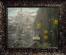 Harry Potter Art Painted Canvas Painting J A Blackwell Hogwarts Hogsmeade Frame