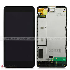 NEW Black Nokia Lumia 630 635 Touch Screen Digitizer LCD Display Assembly+Frame