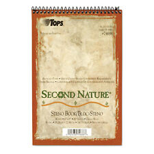 """""""TOPS Second Nature Spiral Reporter/Steno Notebook, Gregg Rule, 6 x 9, 80 Sheet"""""""