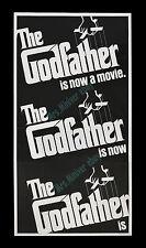 The Godfather 1972 ☆ MARLON BRANDO ☆ 3-Sheet MOVIE POSTER ADVANCE -MINT/UNUSED!