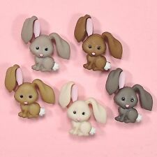 Dress IT UP pulsanti HOP HOP 8995-PASQUA decorazioni conigli BUNNIES