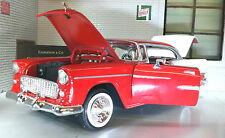 G LGB 1:24 Scale 1955 Chevrolet Chevy Bel Air Hard Top Motormax Model Car 73229