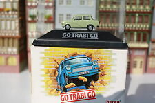 "Trabi ""Go Trabi Go"" in PC-Box + OVP  (Herpa /O 74"