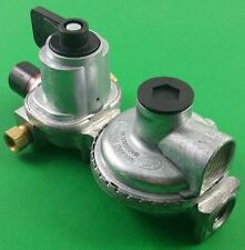 MEC RV LP Propane Dual Tank Changeover Regulator 2 Stage Automatic MEGR-253P