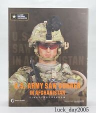 Crazy Dummy US ARMY SAW GUNNER IN AFGHANISTAN 1/6 Figure