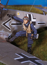 ANDREA MINIATURES SW-03 SKY WARRIOR - GERMAN FIGHTER PILOT 1/48 WHITE METAL