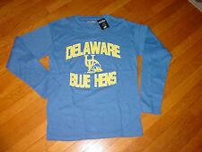 UDE Univ. DELAWARE BLUE HENS THERMAL long sleeve  SOFT  T-Shirt NEW  XLarge   XL