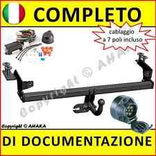 Gancio di traino fisso Fiat Punto II (188) 1999-2007 + fisso centralina 7-poli