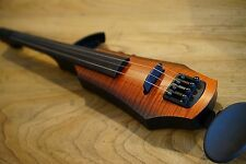 NS Design NXT-4 Electric 4-String Violin, Amber Burst NXT4 -  NEVER PLAYED