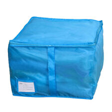 Small Size Clothing Storage Boxes 3 Colors Sorting Organizer Bags Bins Blue