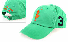 Polo Ralph Lauren Big Pony Cap Basecap green