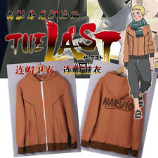 Japanese Anime Naruto Uzumaki Thicken Clothing Sweater Hoodie Jacket Coat S~XXL