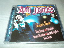 "COFFRET 2 CD ""TOM JONES - LAS VEGAS SHOW"" double disque d'or"