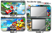 Super Mario Kart Skin Sticker Cover Decal #1 for NEW Nintendo 3DS XL