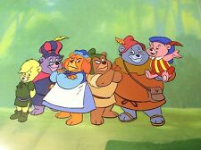 Gummi Bears Production Cel * Disney animation Cubbi Tummi Gruffi art