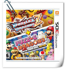 3DS Nintendo Puzzle & Dragons Z + Puzzle & Dragons: Super Mario Bros. Edition