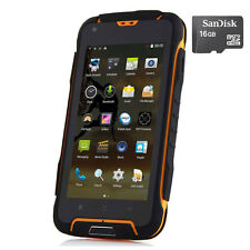 12000mAh Unlocked JEEP F605 Rugged Android Mobile Smartphone Waterproof +16GB SD