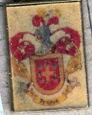 Héraldique BROCHES métallique du nom de famille : FRUITS