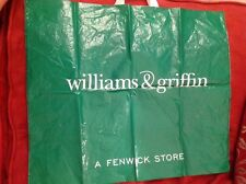 Large Williams & Griffin Dept Store Carrier Bag (Fenwick Group - Colchester)