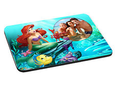 Disney Princess Ariel Personalised Photo 5mm Thick Rectangle Mouse Mat/Pad
