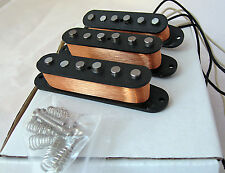 Bloodstone Vintage Hot Alnico 5 Strat Pickup Set, Handwound in the UK