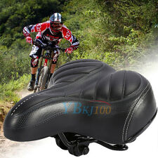 Outdoor Big Bum Sprung Unisex Road Bike Bicycle Gel Cushion Comfort Saddle Seat