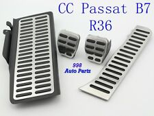 New Stainless Steel Car Pedals for Volkswagen VW Passat B6 B7L CC Manual/MT LHD