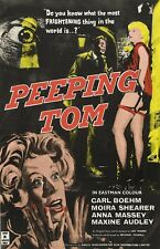 Peeping Tom movie poster (a) : 11 x 17 inches - Michael Powell, Anna Massey