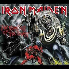 Number Of The Beast by Iron Maiden (CD, Sep-1998, Parlophone Distribution)