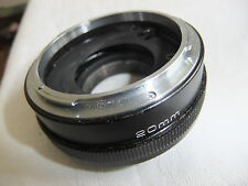 Camera lens EXTENSION TUBE for CANON SLR  VIVITAR 20mm  ..X6