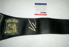 Vince McMahon Signed WWE Championship Belt PSA/DNA V51798
