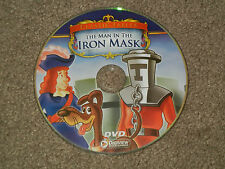 The MAN In The IRON MASK Classic Fables (DVD, Movie, Children, Animated, Family)