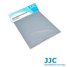 Bilanciamento bianco grigio 18% pannello JJC GC-1 2in1 White Balance & Gray Card