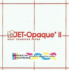 "INKJET TRANSFER PAPER FOR DARK FABRIC: NEENAH ""JET OPAQUE II"" (8.5""X11"") 25 CT"