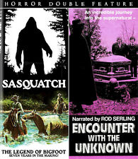 SASQUATCH THE LEGEND OF BIGFOOT/ENCOUNTER WITH THE UNKNOWN Code Red BLU-RAY Yeti