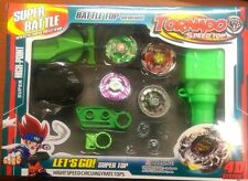 Super Battle Metal Master Fusion 4D Spinning Tops Battle