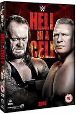 WWE: HELL IN A CELL 2015 John Cena Undertaker Brock Lesnar DVD in Inglese NEW.cp