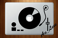 Macbook Air Pro Vinyl Skin Sticker Decal - DJ Disc Music Party #MAC586