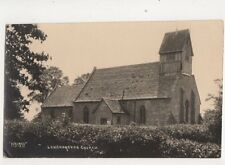 Long Marston Church Warwickshire Vintage RP Postcard 312b