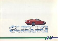 Suzuki Range Swift Alto SJ410 RS1 Concept 1986-87 Original UK Market Brochure