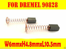Carbon Brushes For DREMEL 90828 232  6x4.8x10.5 Rotary Cut Grinder Multi tool