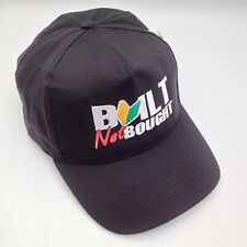 Built Not Bought JDM Honda VW Drift Black Embroidered Cap