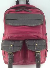 TIMBERLAND Brand Pink AMHERST Canvas Backpack - $220 MSRP - 25% off