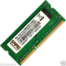 8GB (1X8GB) PC3-10600 DDR3-1333MHz Non-ECC Unbuffered 204 pin Laptop memoria (RAM)