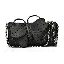 Fashion Butterfly Clutch Chain Womens Ladies Handbag Purse Totes Shoulder Bag