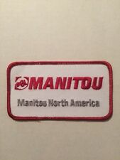 Manitou Construction Equipment North America Patch Red