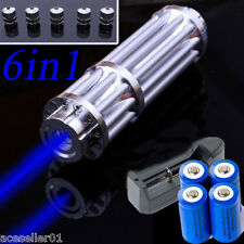 Power 445nm-450nm 1W Blue Laser Pointer Focus Visible Beam Quality Laser Module