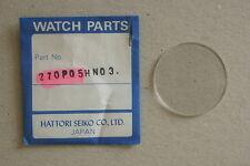 Seiko 270P05HN03 Vetro Crystal Glass Uhrenglas Verre Original NOS