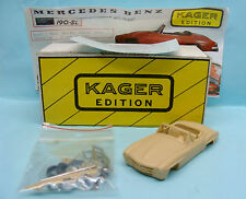 13712 KAGER EDITION / KIT RESINE / MERCEDES BENZ 190 SL 1/43